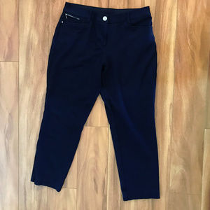 Chicos So Slimming Navy Blue Pants